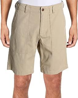 Denim & Supply Ralph Lauren Mens Twill Utility Khaki Shorts Tan 33