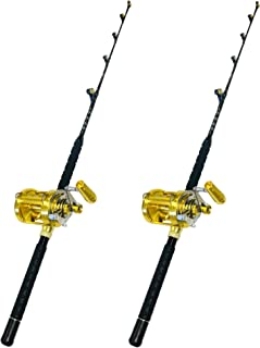 Amazon Com Fishing Rod Reel Combos Offshore Rod Reel Combos Fishing Sports Outdoors