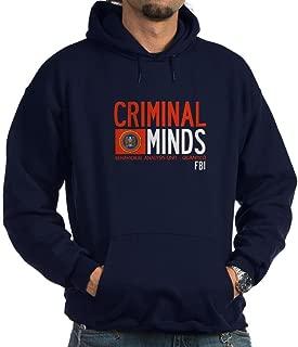 CafePress Criminal Minds FBI BAU Hoodie (Dark) Sweatshirt