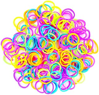 Darice Stretch Band Bracelet Loops and S-Clips - Bead Style Mix - 156 Pieces