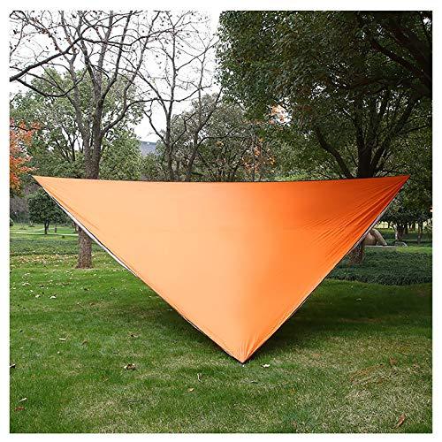 LIU Toldo Triangular Impermeable, toldo para terraza de jardín, toldo Triangular para toldo, toldo para Piscina, toldo para Carpa Flotante