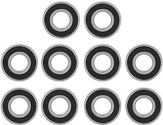24mm Akozon Cuscinetto a Sfere 10pz 6802-2RS Cuscinetti a Sfere a Gola Profonda Sigillati 15mm 5mm