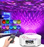 Star Projector Night Light, Galaxy Projector Star Light Projector for Bedroom for Kids, Ocean Wave Projector with Led...