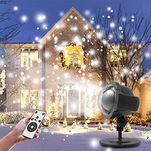 Christmas Projector Light, Mifanstech 360°Rotating Waterproof Outdoor and Indoor Led Laser Light...