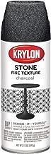 Krylon K03704000Fine Stone Textured Finish, Charcoal