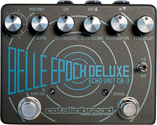 Catalinbread Belle Epoch Deluxe Delay Reverb Guitar Effects Pedal