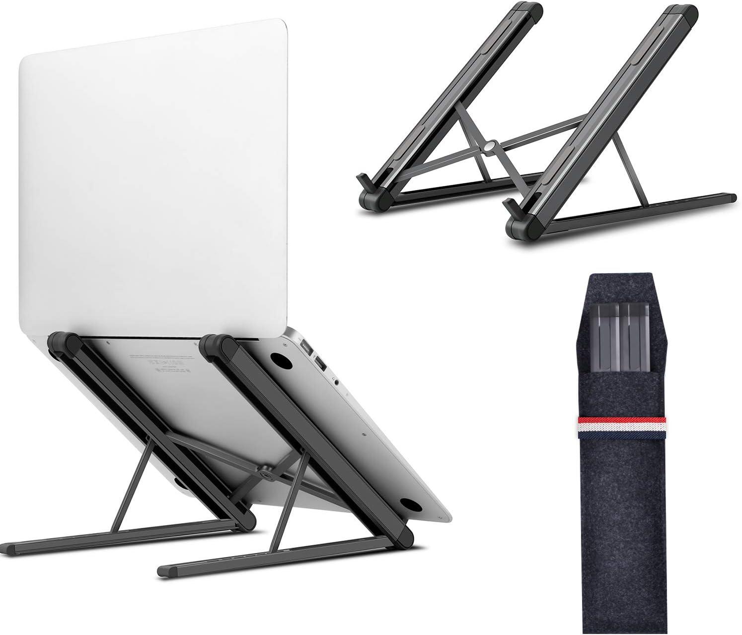 Jubor Laptop Stand Portable Mount Dealing full price reduction Luxury goods Lap Computer Aluminum