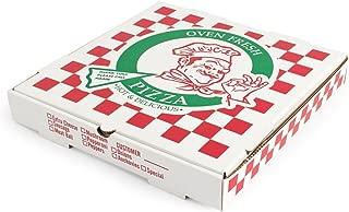 Pratt PRA1312 Pizza Box, B-Flute, Oven Fresh Pizza Print, 1 7/8