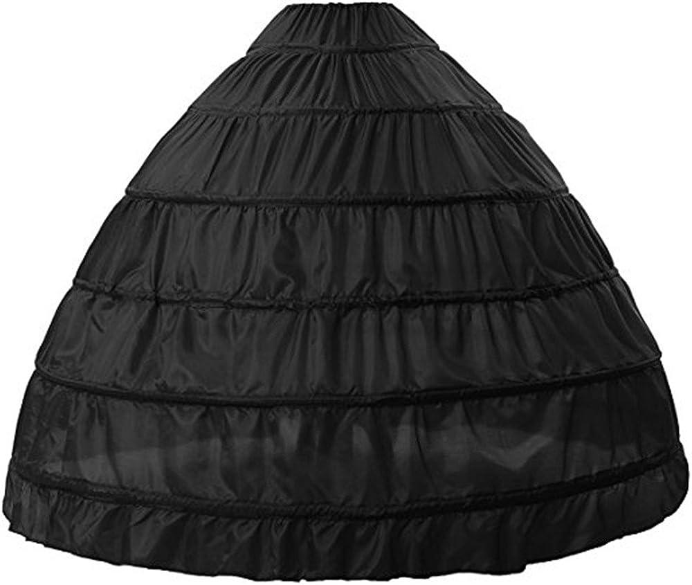 Mr.zhu 6 Hoops Crinoline Slips Petticoat Length New NEW product Floor Underskirt