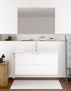 Amazon.es: muebles de baño con lavabo y espejo - Baño: Hogar y cocina