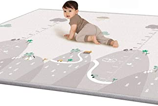 Bescita Baby Double-Sided Non-Slip Soft and Non-toxic Crawling Game Pad Toddler Children's Play Mat Crawling Mat