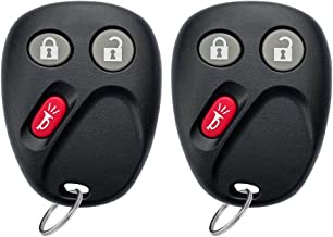 YITAMOTOR Key Fob Replacement Keyless Entry Remote Compatible for 2003 2004 2005 2006 Chevy Tahoe Suburban/GMC Sierra Yukon/Cadillac Escalade/Hummer H2 (LHJ011)