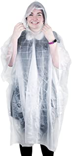 eBuyGB Unisex Adult Reusable Waterproof Poncho