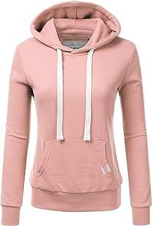 f8651701114829 NINEXIS Womens Long Sleeve Fleece Pullover Hoodie Sweatshirts