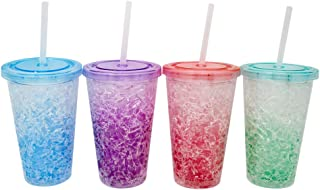 Gel Double Wall Frosted Freezer Mugs by Trademark Innovations