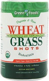 Green Foods Wheat Grass Shots, 10.6 Ounce