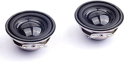 Cylewet 2Pcs Diameter 4cm 4ohm 3W Loudspeaker Audio Speaker Stereo Woofer for Arduino (Pack of 2) CYT1026
