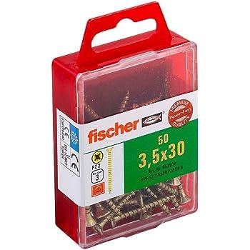Fischer Power-Fast/ /Vis Pozidriv 2/fpf-sz 5/x 40/mm yzf50/bichromat/é