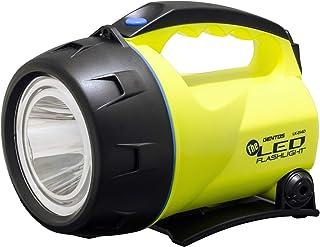 GENTOS(ジェントス) LED 懐中電灯 【明るさ450ルーメン/実用点灯23時間/最大照射距離487m】 置いても使える 単1形電池4本使用 ザ・LED LK-214D ANSI規格準拠