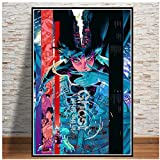 yhyxll Ghost In The Shell Kampf Polizei Japan Poster und