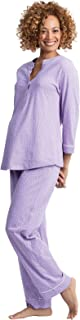 PajamaGram Women's Maternity Pajamas Cotton - Nursing Sleepwear
