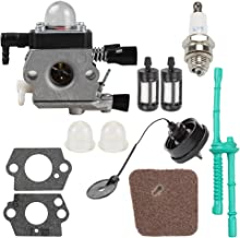 C1Q-S186 Carburetor for STIHL FS 38 HL45 HS45 KM55 FC55 FS 45 FS46 FS46C FS 55 FS55R FS55RC FS45C FS45L FS55C FS55T String Trimmer Weedeater with Tune Up Kit