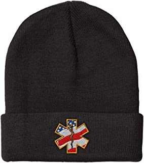 FORDSAN CP Gambia Mens Beanie Cap Skull Cap Winter Warm Knitting Hats.