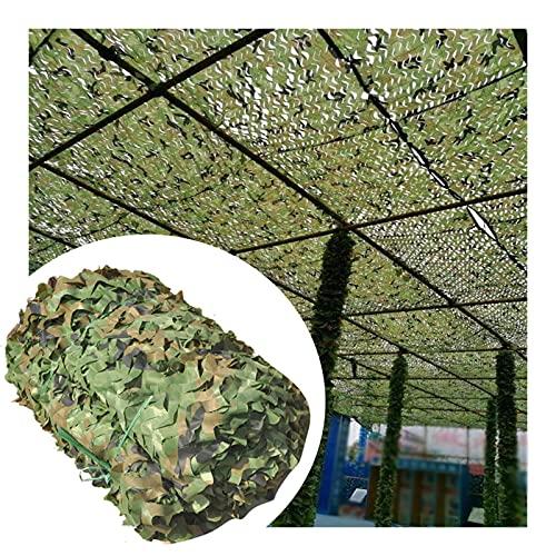 ASDQWER Tarnnetz,Tarnung Net,Camouflage Netz, Leichte Dauerhafte, Unterschiedliche Größe, Für Sonnenschutzdekoration Jagd Blind Schießen Und Sonnenschirm Im Freien,3 * 3m(9.84 * 9.84ft)