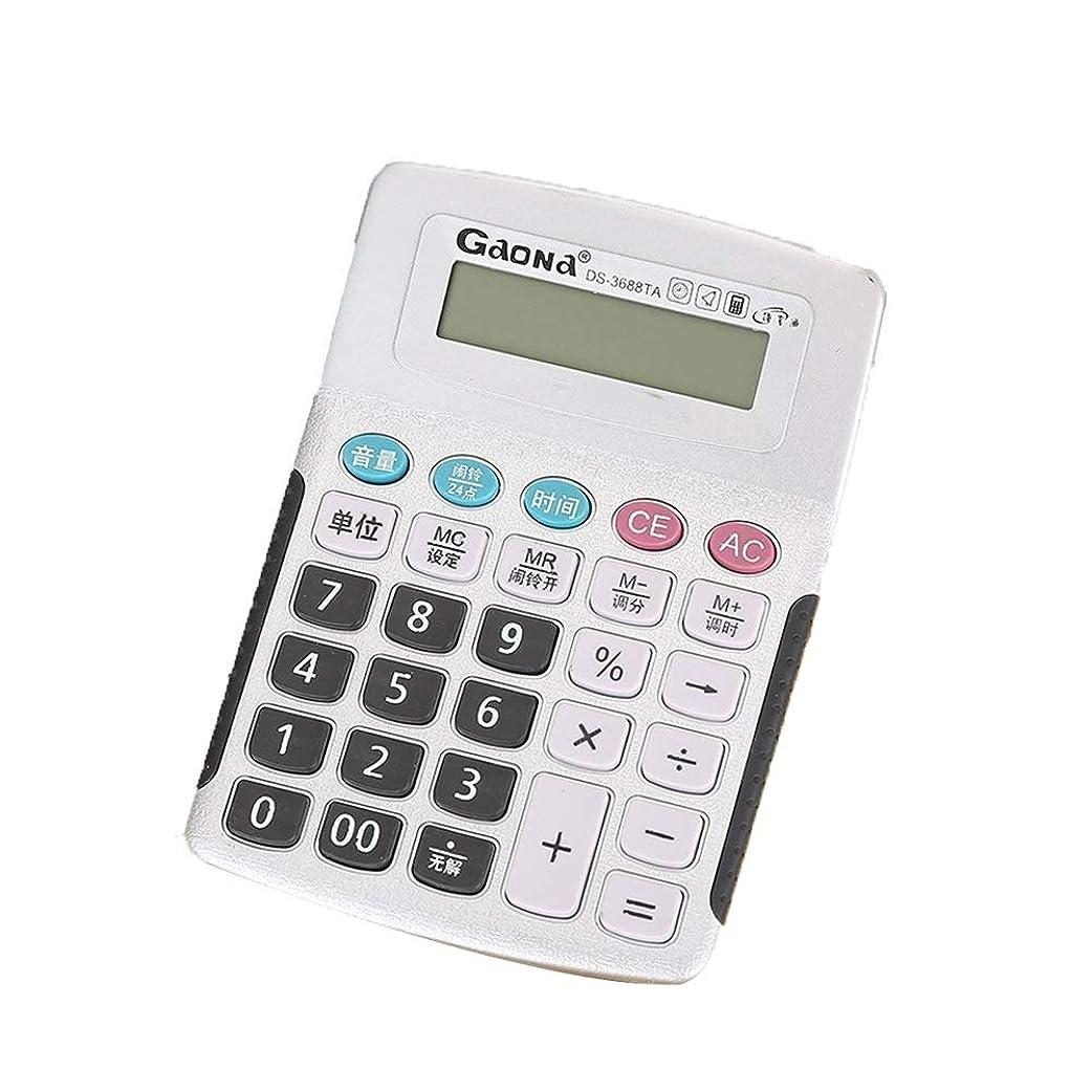 不機嫌出血バングラデシュ電卓 ビジネスオフィススクール計算のための標準機能デスクトップ電卓 準関数電卓スクールオフィス (色 : Photo Color, サイズ : ワンサイズ)