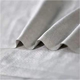 SHUNFENG-EU Couleur de 1,5 m de Largeur Couleur Silver Fibre Radiation Tissu Nano-ION Silver Tricot Trioting Home DIY Fara...