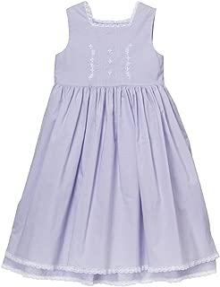 Little Girls Easter Dress Beach Portrait Blue Pink Lavender White