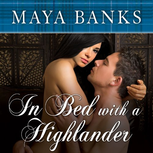 In Bed with a Highlander audiobook cover art