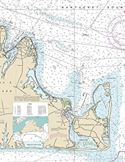 nautical chart martha's vineyard