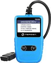 TT TOPDON Code Reader, OBD2 Scanner TD309 Portable Diagnostic Tool for 9-18V car/SUV/Light Truck