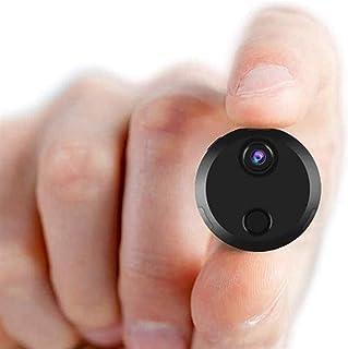 كاميرا تجسس جاي إل إتش بي إم يو، أصغر كاميرا للمراقبة الأمن 1080 بكسل فل اتش دي لاسلكية صغيرة تجسس كاملة، كاميرا واي فاي ل...