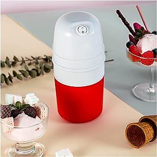 BJH Machine à crème glacée pour Enfants, Machine à crème glacée Maison avec congélateur intégré, Machine à crème glacée Au...