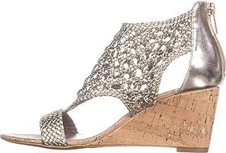 Womens Joli Open Toe Casual Platform Sandals, Platino,...
