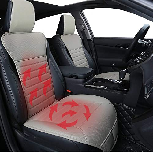 sweetyhomes Heated Seat Cushion Rear of The Car Heated Padded Seat Pad Seat Warmer Seat Heaters Car Heating Pad for Car SUV Van Truck /& Office Chair 12V Front