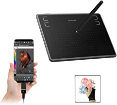 HUION Inspiroy H430P OSU Graphics Tablets Drawing Tablet with Glove and 4 Express Keys, Battery-Free Stylus, Compatible wi...