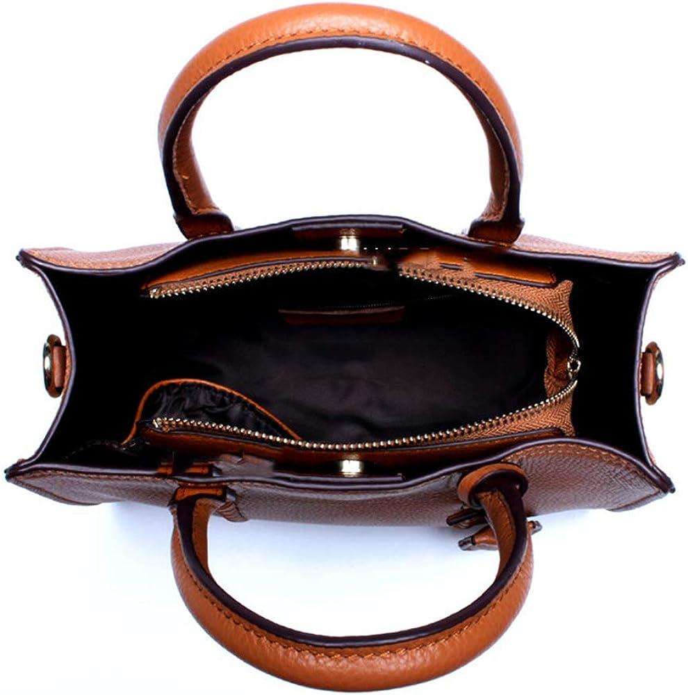K-CBFF Dame Sacs portés Main bandoulière Ajustable PU Cuir Sac Porté Main Epaule Impermeable Mode et Élégant Cuir Naturel Elégant Vintage C