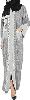 Arabeska Grey Casual Abaya For Women