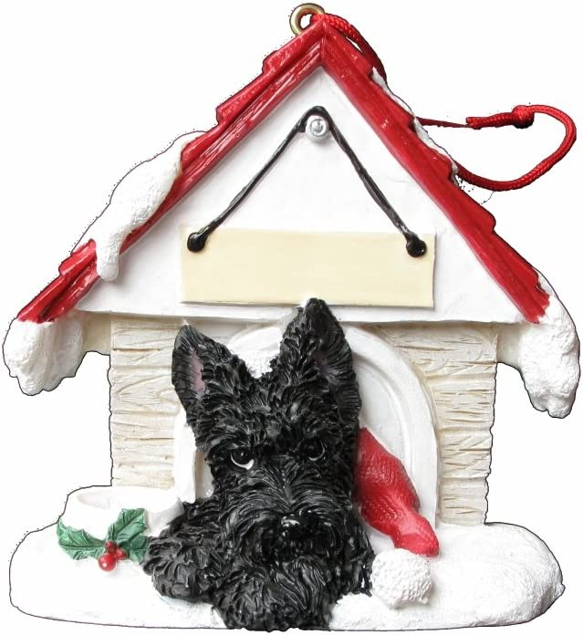 Scottie Dog Scottish Highland Terrier Decor Dogs Birthday Fathers Day. Pooch Hanging Ornament Easter Pottery Dog Pet Anniversary