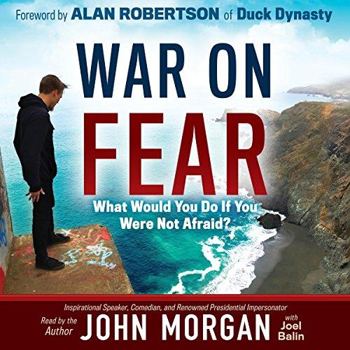 War on Fear audiobook cover art