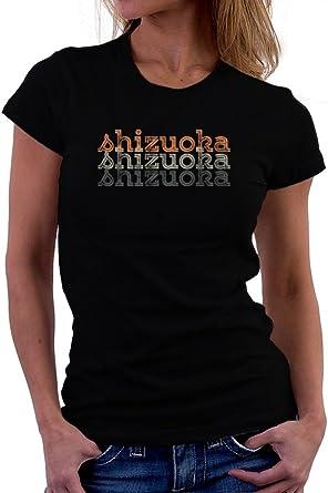 Teeburon Shizuoka Repeat Retro Women T-Shirt