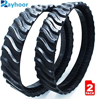 Rayhoor R0526100 MX8 MX6 Swimming Pool Cleaner Replacement Tire Track Wheel, Exact Fit for Zodiac Baracuda Pool Cleaners(2 Pack)