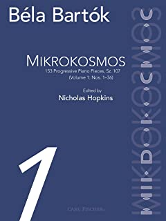 Mikrokosmos, Book 1 Piano