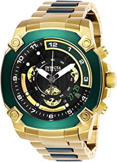 Men's Reserve Quartz Watch with Stainless Steel Strap, Gold, 26 (Model: 27050)