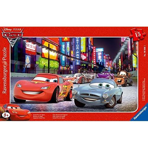 Ravensburger - 06006 1 - Puzzle Incorniciato 15 Pezzi Cars