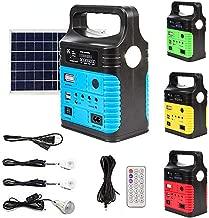 UPEOR Solar Generator Lighting System Portable Solar Power Generator Kit for Emergency..