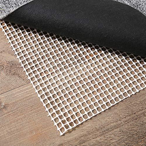 Antirutschmatte Rutschschutz für Teppiche Teppich Teppichunterlage Teppichstop Gleitschutz Rutschfester Teppichunterleger Teppichstopper Anti Rutsch 150 x 210CM